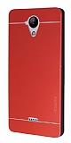 Motomo Casper Via E1 Metal Kırmızı Rubber Kılıf