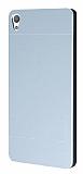 Motomo Sony Xperia E5 Metal Silver Rubber Kılıf