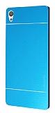 Motomo Sony Xperia XA Ultra Metal Mavi Rubber Kılıf