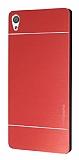 Motomo Sony Xperia XA Ultra Metal Kırmızı Rubber Kılıf