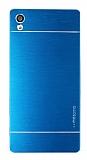 Motomo Sony Xperia Z5 Premium Metal Mavi Rubber Kılıf