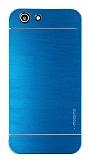 Motomo Turkcell T70 Metal Mavi Rubber Kılıf