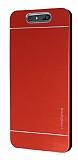 Motomo Turkcell T80 Metal Kırmızı Rubber Kılıf