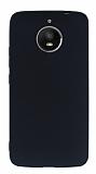 Motorola Moto E4 Plus Mat Siyah Silikon Kılıf
