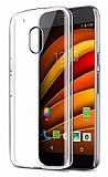 Motorola Moto G4 / G4 Plus Şeffaf Kristal Kılıf
