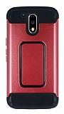 Motorola Moto G4 / G4 Plus Ultra Koruma Kırmızı Kılıf
