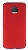 Motorola Moto G5S Mat Kırmızı Silikon Kılıf