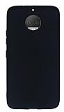 Motorola Moto G5S Mat Siyah Silikon Kılıf
