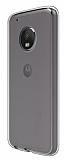Motorola Moto G5S Plus Ultra İnce Şeffaf Silikon Kılıf