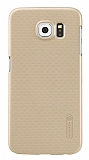 Nillkin Frosted Galaxy S6 Gold Rubber Kılıf