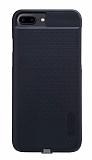 Nillkin Magic Case iPhone 7 Plus Kablosuz Şarj Özellikli Siyah Kılıf