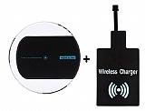 Nillkin Magic Disk II Micro USB Kablosuz Siyah Şarj Seti (Şarj Aleti + Alıcı)
