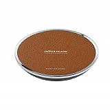 Nillkin Magic Disk 3 Kablosuz Kahverengi Hızlı Şarj Cihazı