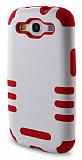 Nillkin Samsung Galaxy S3 / S3 Neo Ultra Süper Koruma Kırmızı Beyaz Kılıf