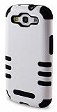 Nillkin Samsung Galaxy S3 / S3 Neo Ultra Süper Koruma Siyah Beyaz Kılıf