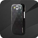 Nillkin Samsung Galaxy S3 / S3 Neo Siyah İnci Sert Rubber Kılıf