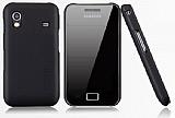 Nillkin Samsung S5830 Galaxy Ace Siyah Sert Rubber K�l�f