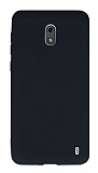 Nokia 2 Mat Siyah Silikon Kılıf