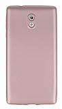 Nokia 3 Mat Rose Gold Silikon Kılıf