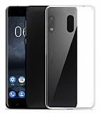 Nokia 3 Şeffaf Kristal Kılıf