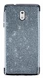 Nokia 3 Simli Siyah Silikon Kılıf