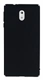 Nokia 3 Tam Kenar Koruma Siyah Rubber Kılıf