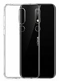 Nokia 5.1 Plus Ultra İnce Şeffaf Silikon Kılıf