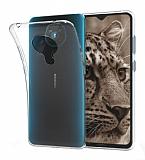 Nokia 5.3 Ultra İnce Şeffaf Silikon Kılıf