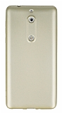 Nokia 5 Mat Gold Silikon Kılıf