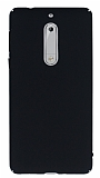 Nokia 5 Tam Kenar Koruma Siyah Rubber Kılıf