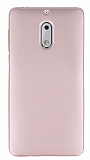 Nokia 6 Mat Rose Gold Silikon Kılıf