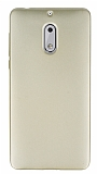Nokia 6 Mat Gold Silikon Kılıf