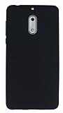Nokia 6 Mat Siyah Silikon Kılıf