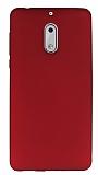 Nokia 6 Mat Kırmızı Silikon Kılıf