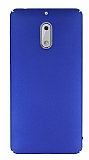 Nokia 6 Tam Kenar Koruma Lacivert Rubber Kılıf