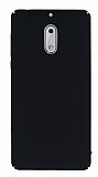 Nokia 6 Tam Kenar Koruma Siyah Rubber Kılıf