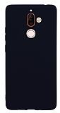Nokia 7 Plus Mat Siyah Silikon Kılıf