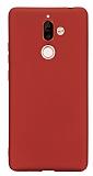 Nokia 7 Plus Mat Kırmızı Silikon Kılıf