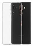 Nokia 7 Plus Ultra İnce Şeffaf Silikon Kılıf