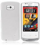 Nokia 700 Beyaz Silikon K�l�f