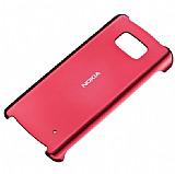 Nokia 700 Orjinal K�rm�z� Sert Parlak K�l�f