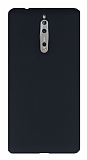 Nokia 8 Mat Siyah Silikon Kılıf