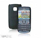 Nokia C3 Siyah Delikli K�l�f