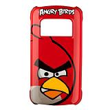 Nokia C6-01 Orjinal Angry Birds K�rm�z� Sert Rubber K�l�f