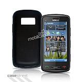 Nokia C6-01 Siyah Silikon K�l�f
