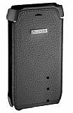 Nokia N8 Orjinal Siyah Kapakl� Deri K�l�f