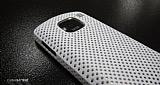 Nokia E5 Beyaz Delikli K�l�f