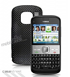 Nokia E5 Pembe Delikli K�l�f