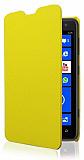 Nokia Lumia 625 �nce Yan Kapakl� Sar� K�l�f