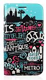 Nokia Lumia 625 Jetaime Standl� C�zdanl� Deri K�l�f